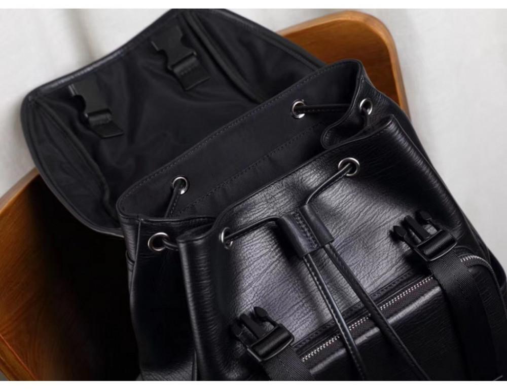 Стильный кожаный рюкзак мужской Tiding Bag B3-174A - Фото № 9