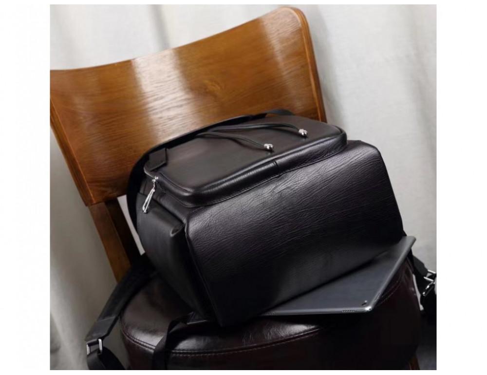 Стильный кожаный рюкзак мужской Tiding Bag B3-174A - Фото № 10