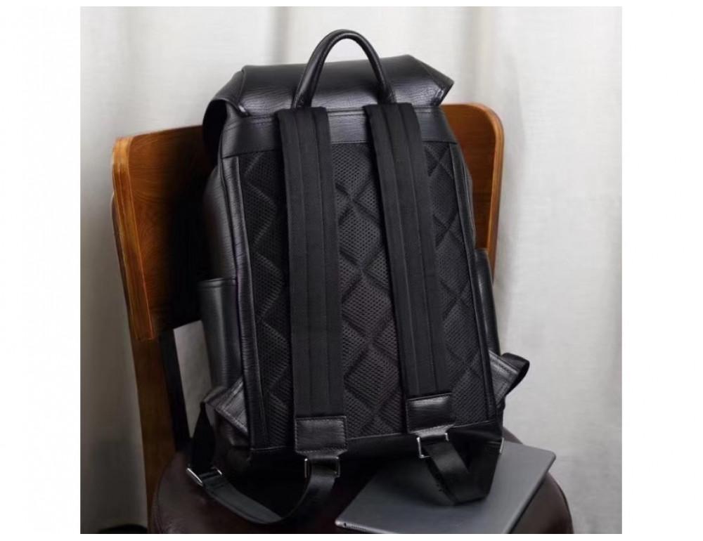 Стильный кожаный рюкзак мужской Tiding Bag B3-174A - Фото № 11