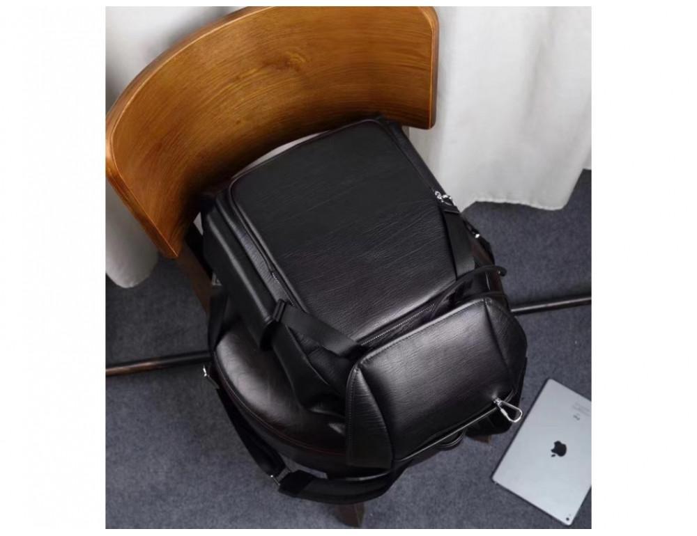 Стильный кожаный рюкзак мужской Tiding Bag B3-174A - Фото № 12