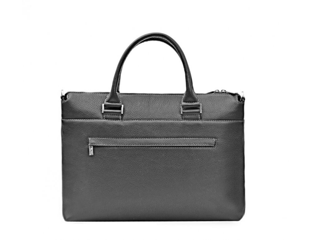 Мужская кожаная сумка под ноутбук Issa Hara B2A - Фото № 2