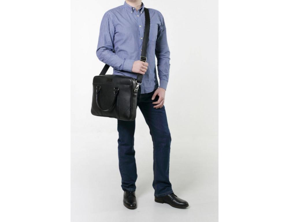 Мужская кожаная сумка Issa Hara B14B - Фото № 2