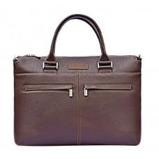Мужская кожаная сумка под ноутбук Issa Hara B2B