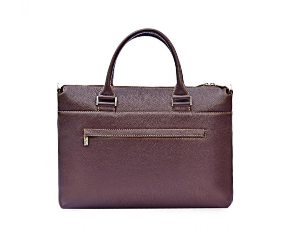 Мужская кожаная сумка под ноутбук Issa Hara B2B - Фото № 2