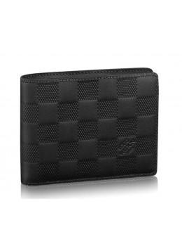 Мужской портмоне Louis Vuitton LV60895 чёрный