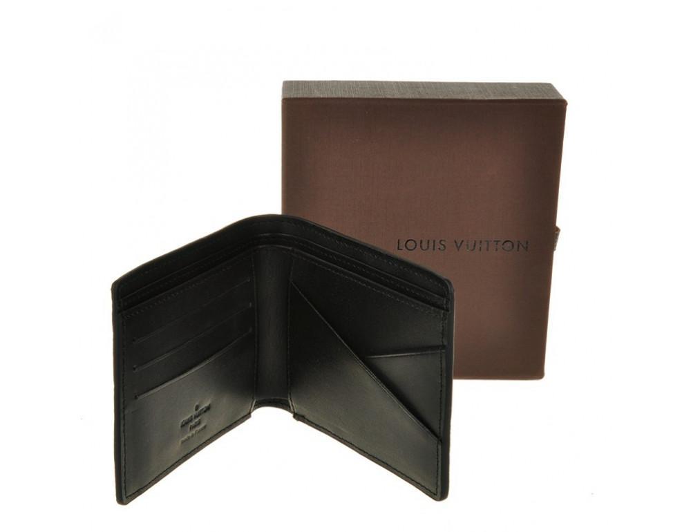 Чоловічий портмоне Louis Vuitton LV60895 чорний - Фотографія № 3
