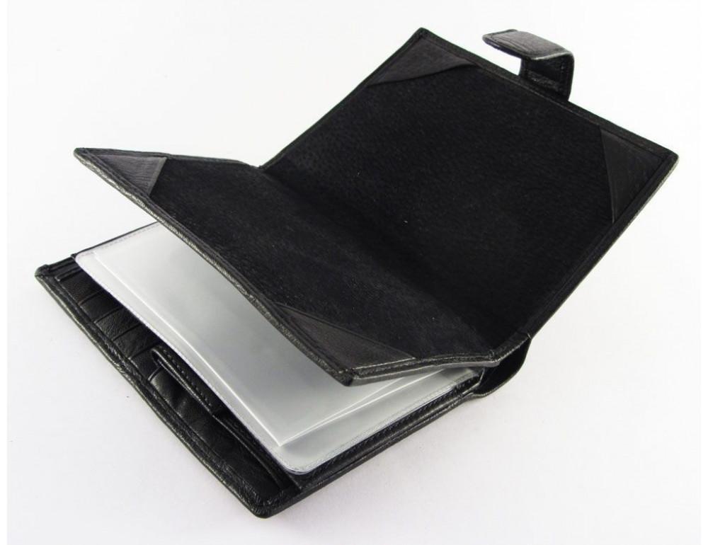 Чоловічий шкіряний гаманець Horton Collection TR2090-1 - Фотографія № 4