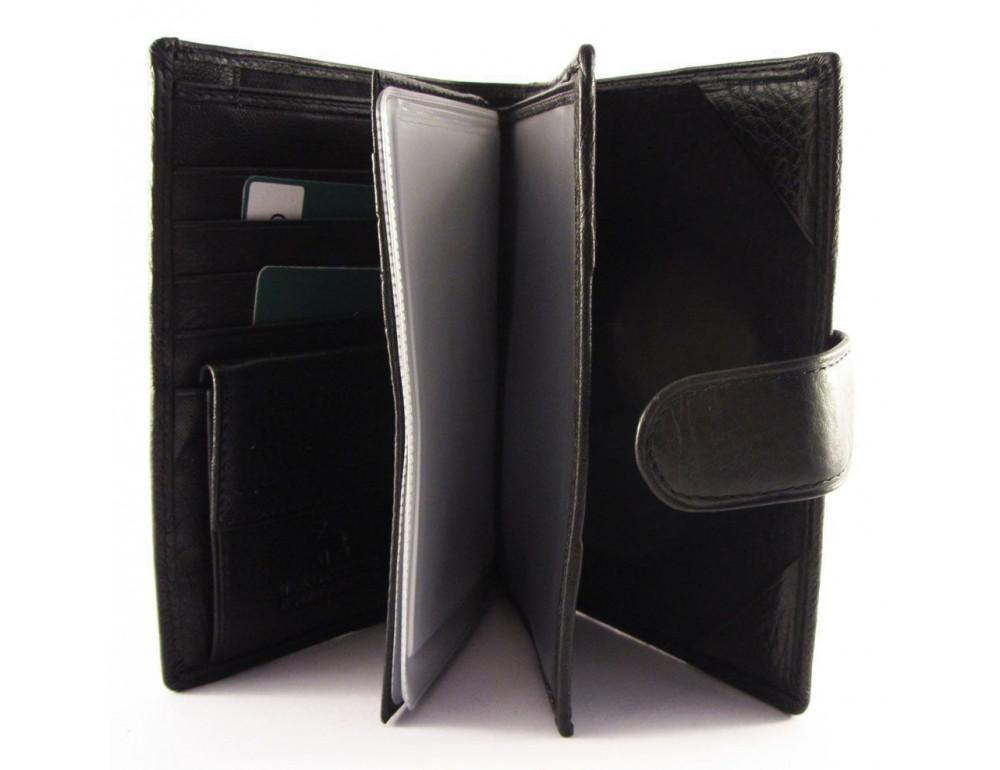 Чоловічий шкіряний гаманець Horton Collection TR2090-1 - Фотографія № 3