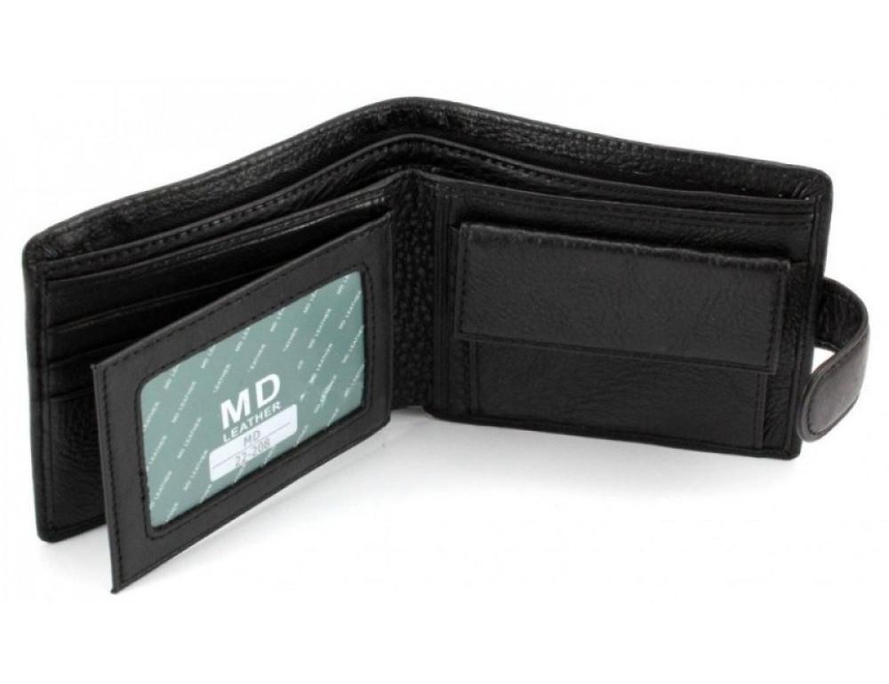 Чоловічий шкіряний гаманець Horton Collection MD 22-208 - Фотографія № 6