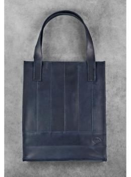 Кожаная женская сумка Blanknote bn-bag-10-nn синяя