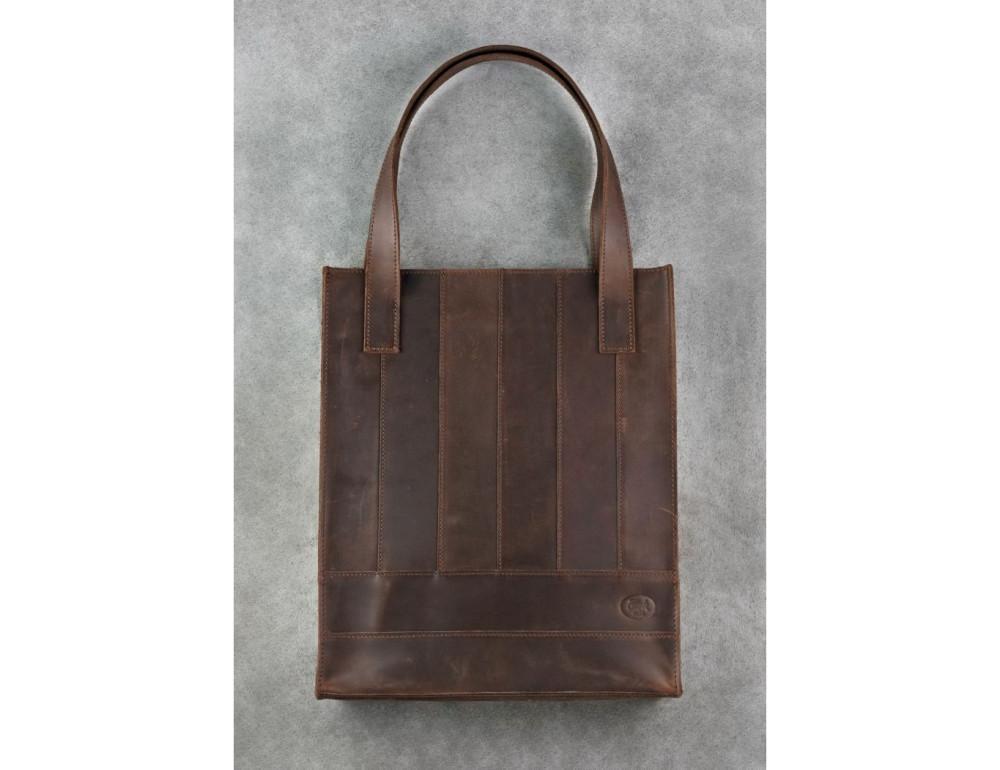 Тёмно-коричневая женская сумка Шоппер Blanknote BN-BAG-10-o  - Фото № 1