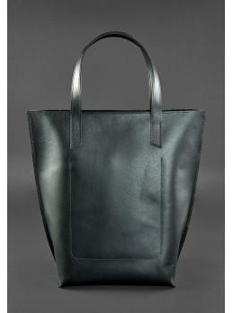 Вместительная женская сумка Шопер blanknote D.D. черный графит