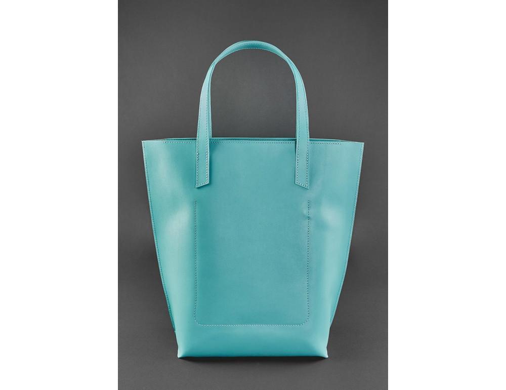 Містка жіноча сумка Шопер blanknote BN-BAG-17-tiffany тиффани - Фотографія № 3