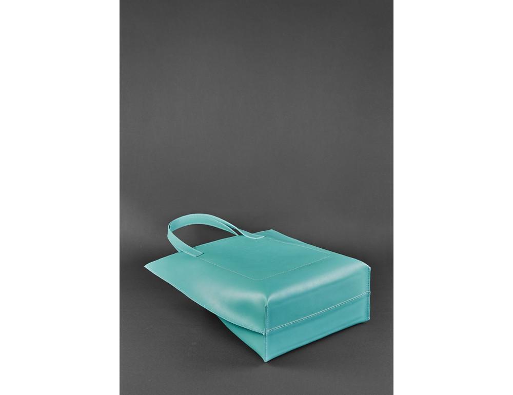 Містка жіноча сумка Шопер blanknote BN-BAG-17-tiffany тиффани - Фотографія № 5