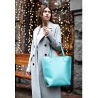 Містка жіноча сумка Шопер blanknote BN-BAG-17-tiffany тиффани - Фотографія № 107