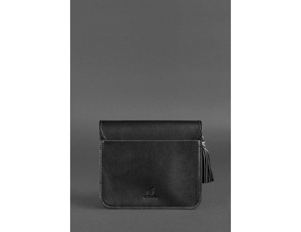 Жіночий кроссбоді Blanknote bn-bag-3-g-man графітовий - Фотографія № 5
