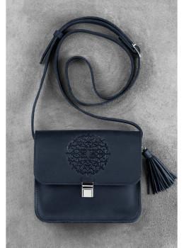 Кожаная сумка через плечо Blanknote bn-bag-3-nn-man