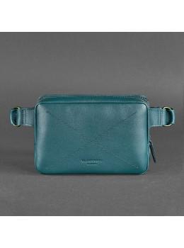 Зелёная женская сумка на пояс Blancnote BN-BAG-6-MALACHITE