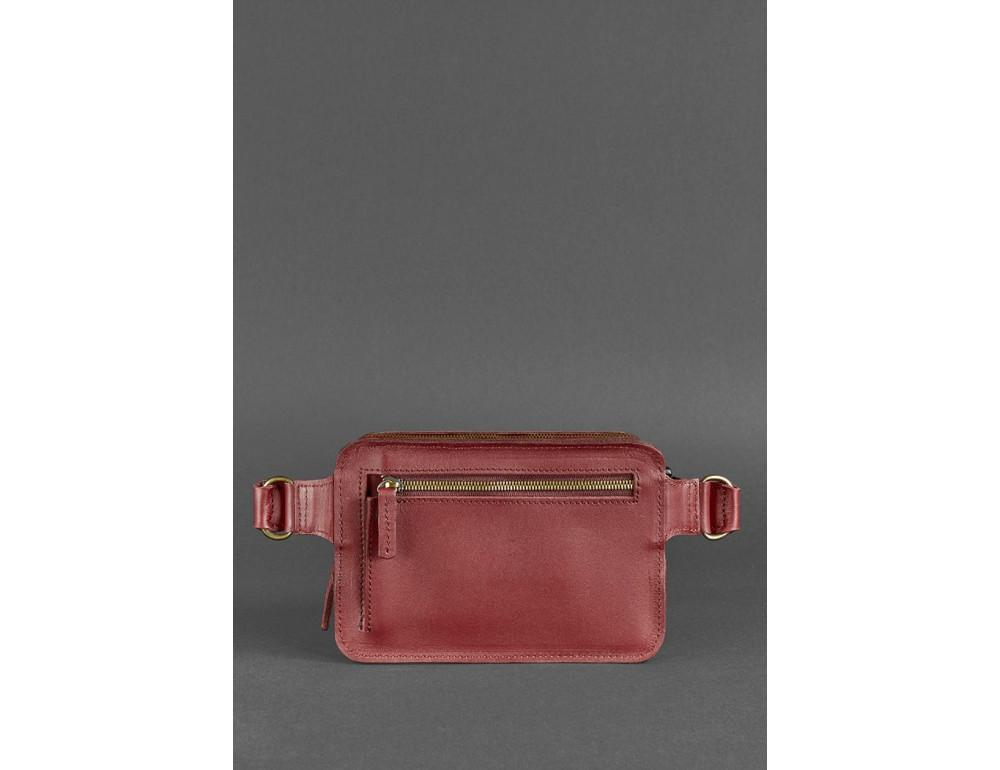 Шкіряна сумка на пояс Blanknote BN-BAG-6-VIN-KR - Фотографія № 6