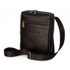 Маленькая кожаная сумка-мессенджер Black Diamond BD12C