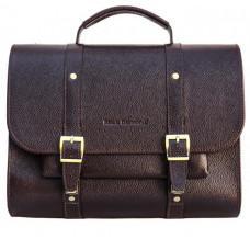 Чоловічий шкіряний портфель black diamond BD33CF коричневий