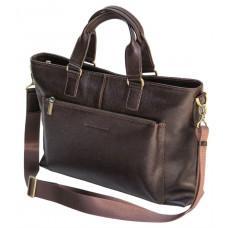 Чоловіча сумка під ноутбук з сафяновой шкіри Black Diamond bd38cf