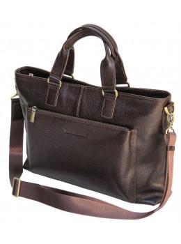 Мужская сумка под ноутбук из сафяновой кожи Black Diamond bd38cf