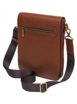 Коричнева шкіряна сумка планшетка Black Diamond BD54C