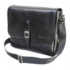 Стильная кожаная сумка через плечо Black Diamond BD55A
