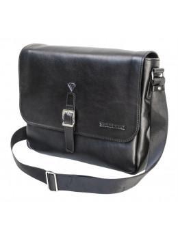 Стильна шкіряна сумка через плече Black Diamond BD55A