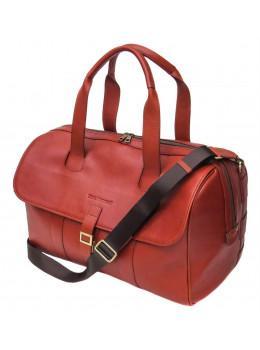 Рыжая кожаная дорожная сумка Black Diamond BD56C