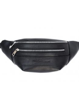 Стильна чоловіча сумка на пояс високої якості Black Diamond BD63Ator
