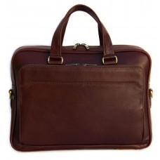 Мужская кожаная сумка Black Diamond BD6C коричневый