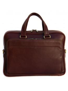 Чоловіча шкіряна сумка Black Diamond BD6C коричневий