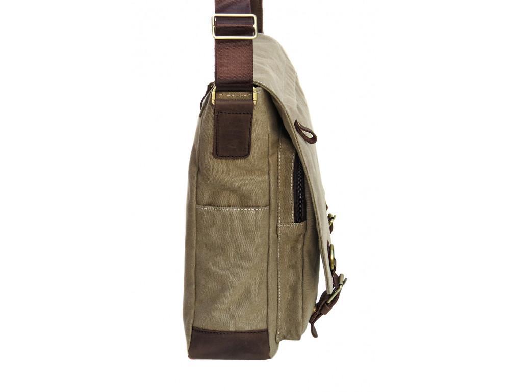 Большая мужская сумка через плечо Black Diamond BDt1Ccrh-pes - Фото № 3