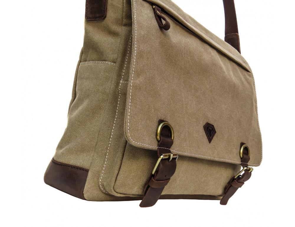 Большая мужская сумка через плечо Black Diamond BDt1Ccrh-pes - Фото № 5