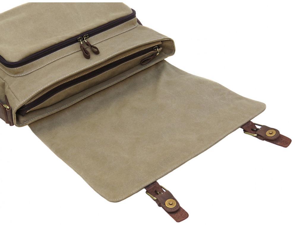 Большая мужская сумка через плечо Black Diamond BDt1Ccrh-pes - Фото № 6
