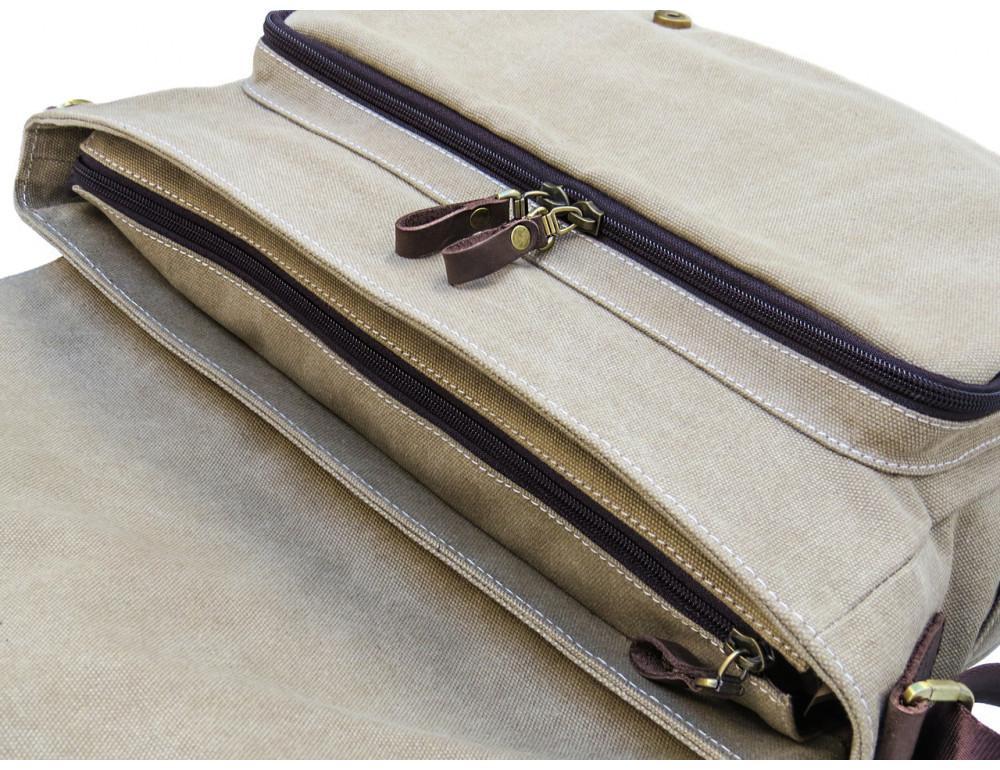 Большая мужская сумка через плечо Black Diamond BDt1Ccrh-pes - Фото № 7