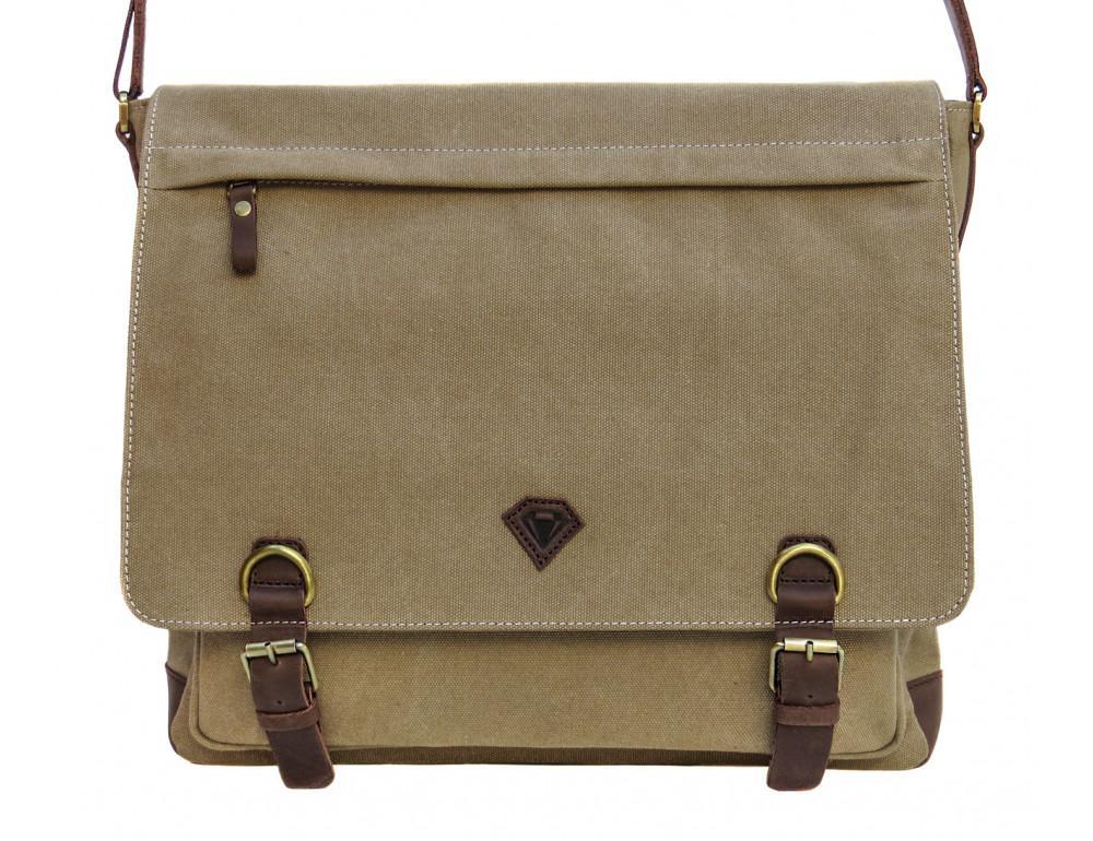 Большая мужская сумка через плечо Black Diamond BDt1Ccrh-pes - Фото № 10