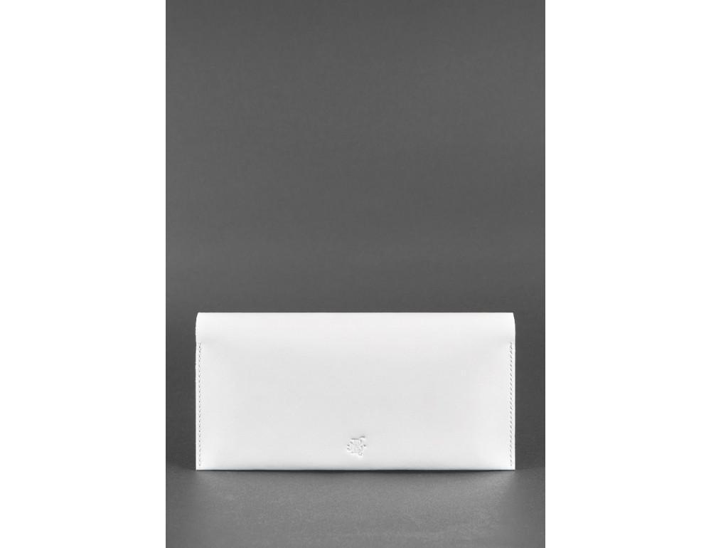 Белый кожаный травел-кейс под документы Blanknote BN-TK-2-LIGHT - Фото № 5