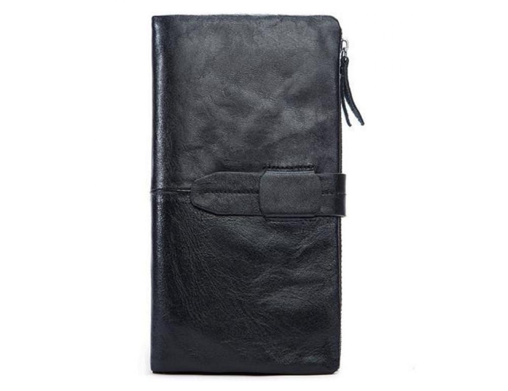 Чоловічий шкіряний портмоне Bexhill BX8839A чорний - Фотографія № 3