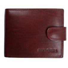 Коричневый кожаный портмоне Marco Coverna BK003-801B Win Red