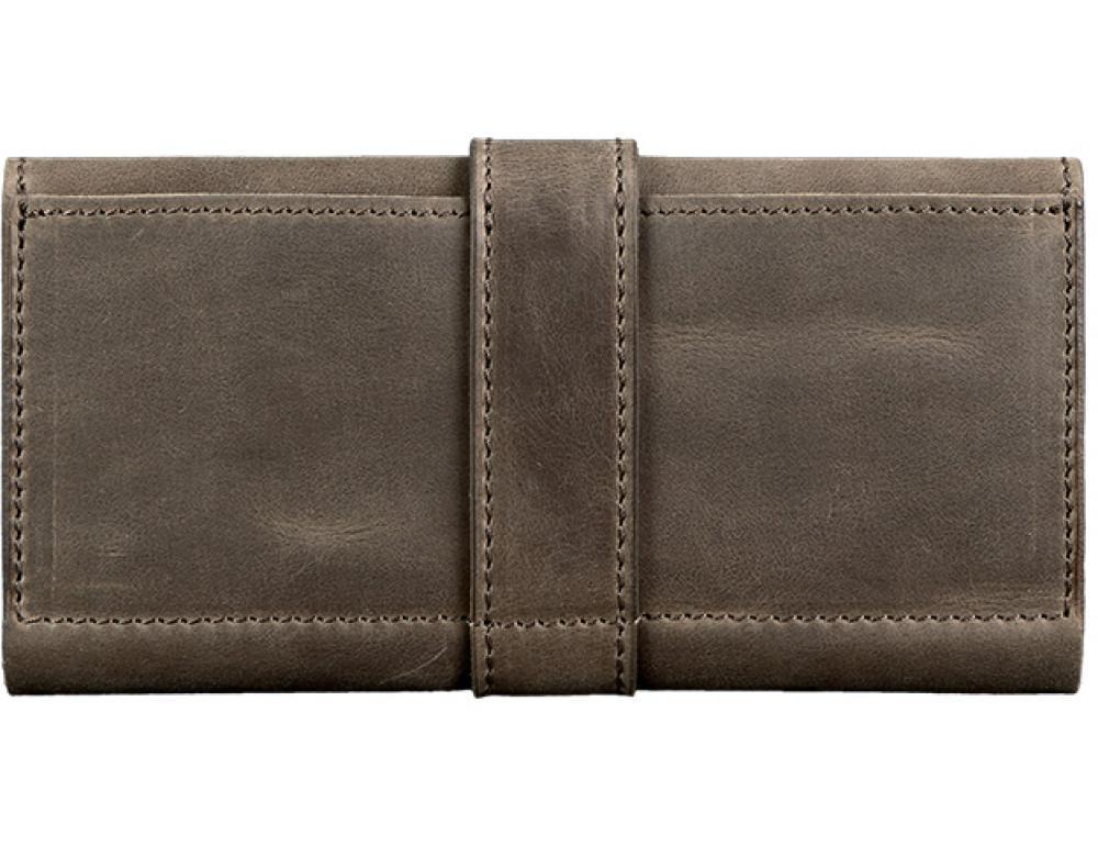 Кожаный кошелек из лошадиной кожи Blanknote BN-PM-3-O - Фото № 2