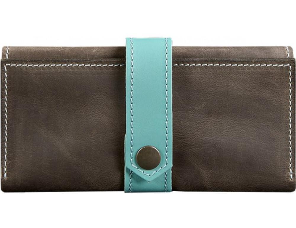 Жіночий шкіряний гаманець Blanknote bn-pm-3-o-t