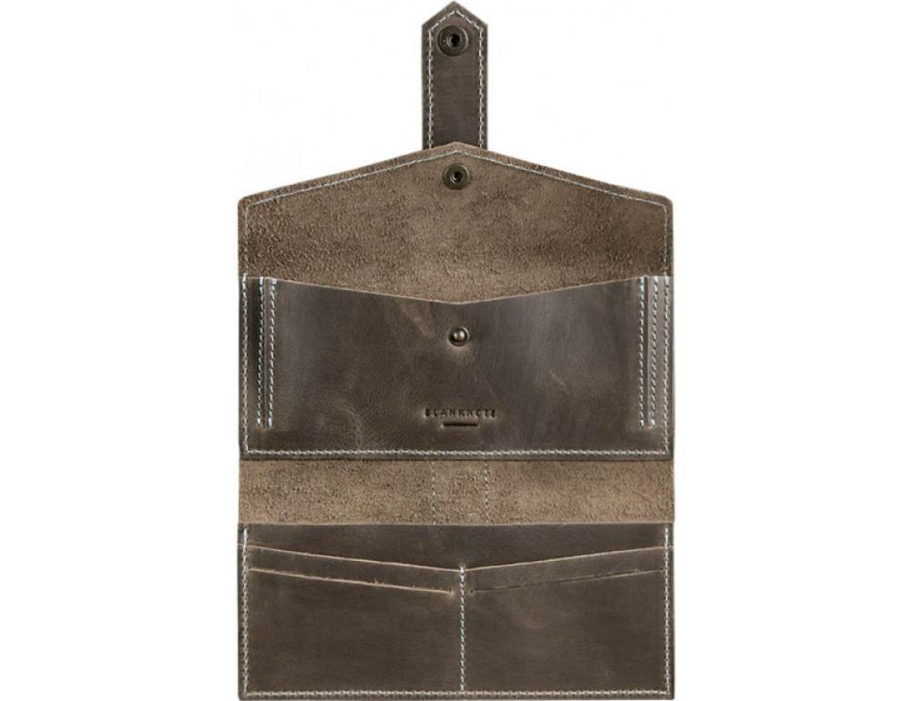 Женский кожаный кошелек Blanknote bn-pm-3-o-t - Фото № 3