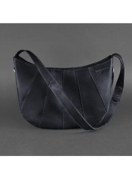 Тёмно-синяя женская сумка из натуральной кожи Blancnote BN-BAG-12-NN