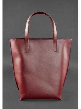 Вместительная женская сумка Шопер blanknote D.D. бордовый