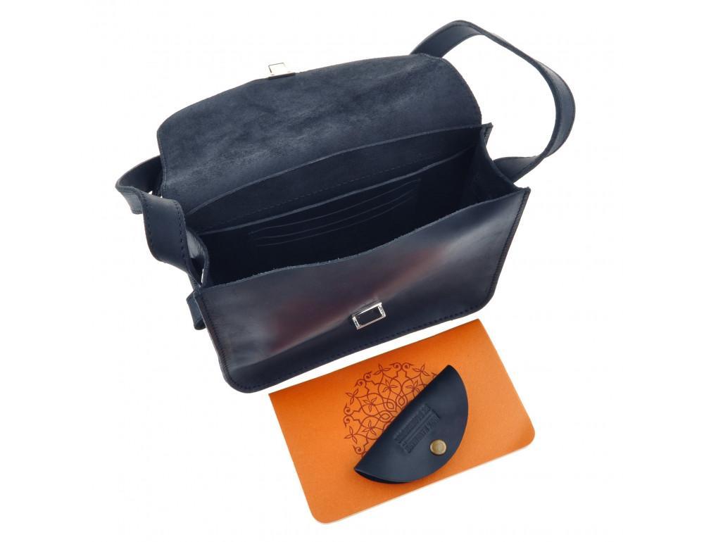 Шкіряна сумка через плече Blanknote bn-bag-3-nn-man - Фотографія № 5