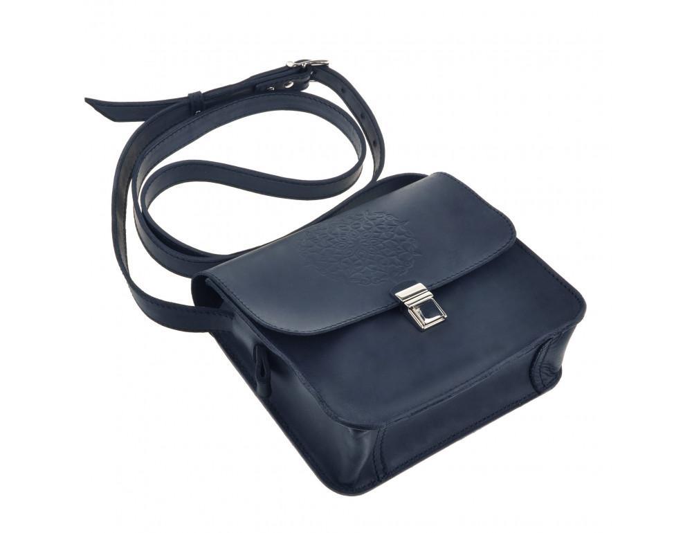 Шкіряна сумка через плече Blanknote bn-bag-3-nn-man - Фотографія № 6