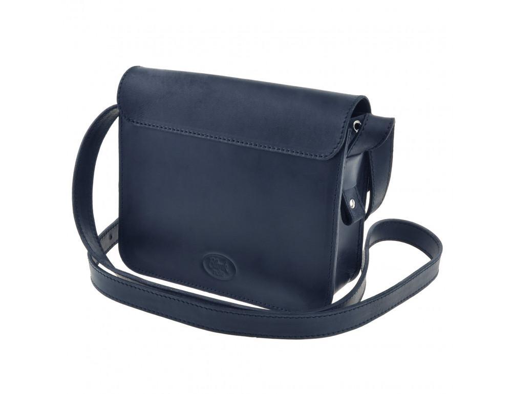 Шкіряна сумка через плече Blanknote bn-bag-3-nn-man - Фотографія № 7